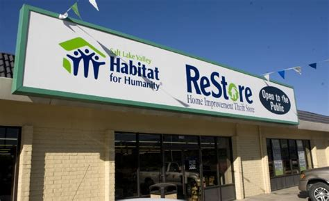 thrift store benefits families home improvement fans