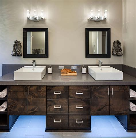 Modern Rustic Bathroom Decor Modern Meets Rustic Revealing A Special Eclectic D 233 Cor