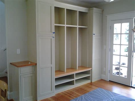 mudroom shelves wall built in custom mudroom cubby design painted with
