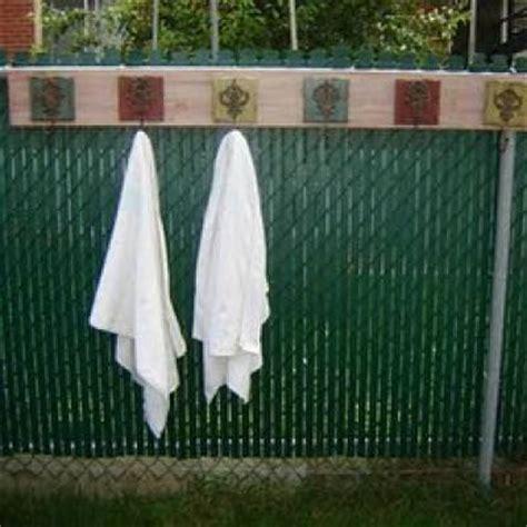 Outdoor Pool Towel Rack by Diy Outdoor Towel Rack Outdoors Tip Junkie
