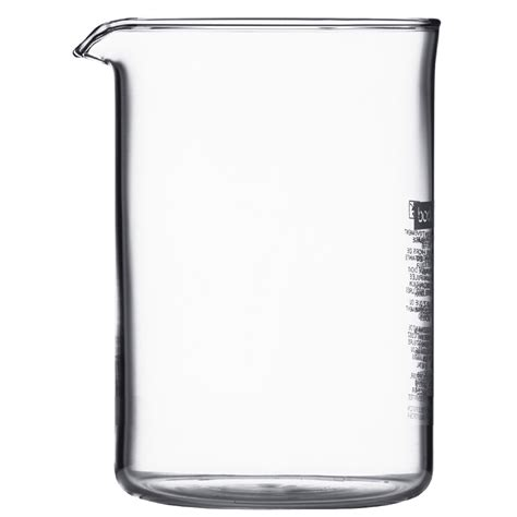 4 Cup Beaker, SAN plastic   ESPRESSO SUPPLY, INC.