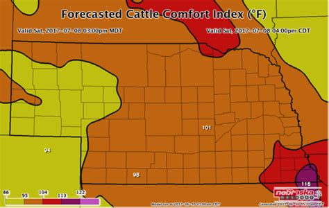 comfort index forecast expect high heat indices after july 4