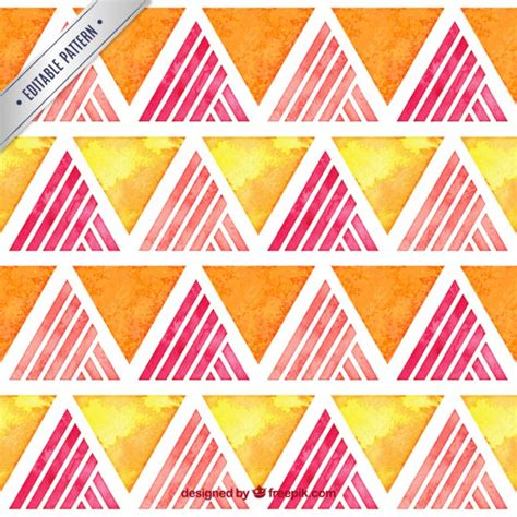 triangle pattern ai download watercolor triangles pattern vector free download