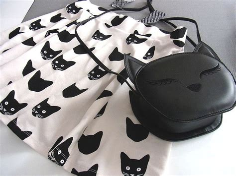 Catty Tunic 1 cat skater rock cat bag i bought by h m on sunday