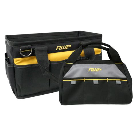 Awp Plumbing And Heating by Shop Awp Polyester Tool Bag At Lowes