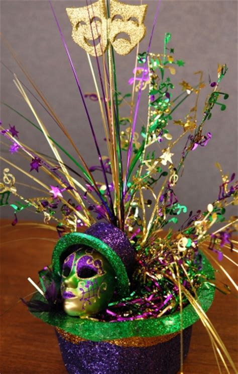 9 easy diy mardi gras centerpieces heather roberts