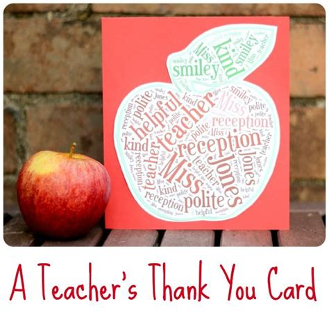 How To Make A S Thank You Card Using Tagxedo