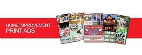home improvement print ads marketing