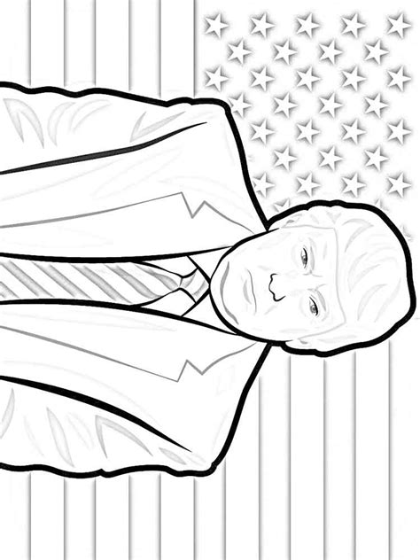 Free Printable Presidents Day Coloring Pages