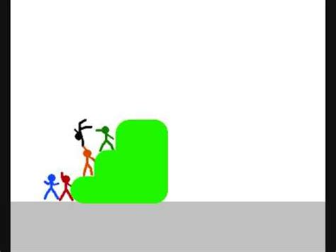 moving figures stick figure moving screen of