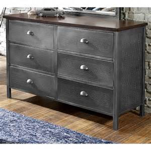 galaxy contemporary metal dresser rotmans dressers