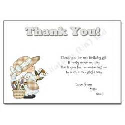 Home thank you notes general birthday thank you notes little