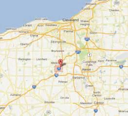 Medina Ohio Map by Medina County Ohio Map