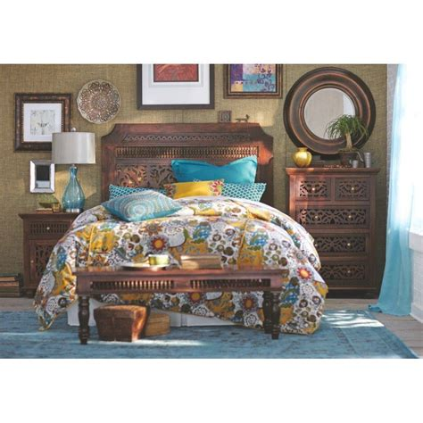 home decorative collection home decorators collection maharaja walnut king headboard