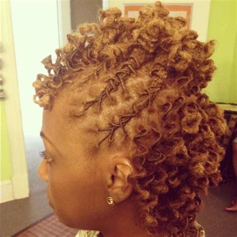 short updo hairstyles for women with locs natural hair 61 short hairstyles that black women can wear all year long