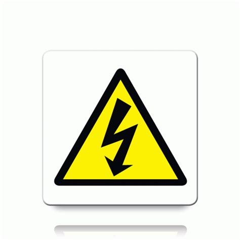 buy electrical symbol labels danger warning stickers
