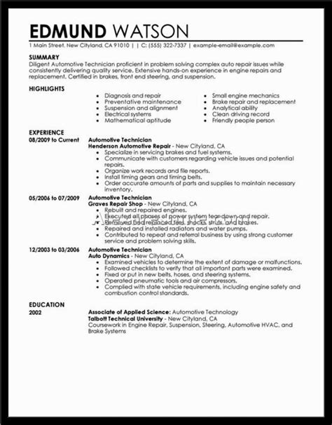 executive resume sles professional resume sles free
