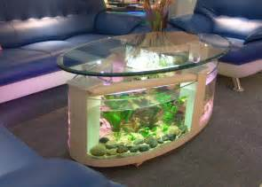 Coffee Fish Tank Table Top 7 Cool Fish Bowls And Tanks Vansant Author