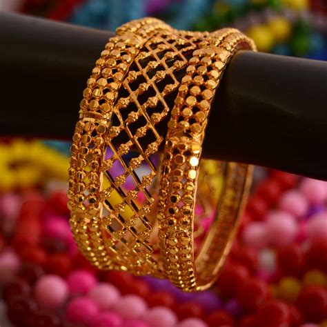 buy golden bangles set punjabi jewellery