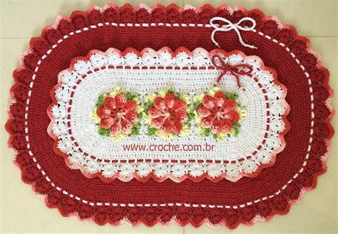 croche oval bico duplo tapete com flores jogo de banheiro croche oval tapete oval bico duplo passo a passo parte 2 croche com br
