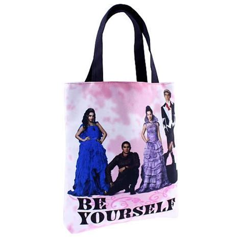 Channel Carlo Bag disney descendants reversible tote bag be yourself