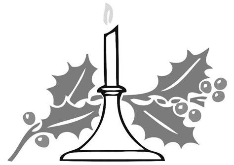 candela natalizia da colorare disegno da colorare candela natalizia cat 20340