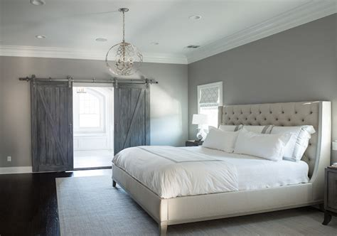 Grey Bedroom Colors | light gray paint colors contemporary bedroom farrow