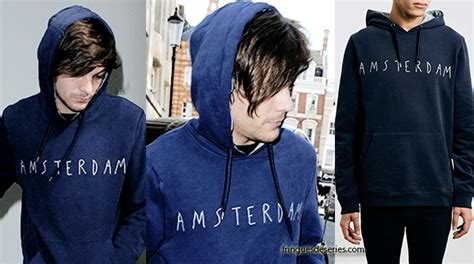 Sweater Amsterdam Rin one direction louis tomlinson and topman amsterdam
