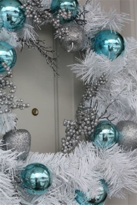 35 silver and blue d233cor ideas for christmas and new year