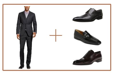 choose the right shoe color for your suit