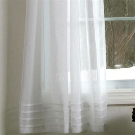 pleated sheer curtains window treatments galway pleat accented semi sheer window treatment