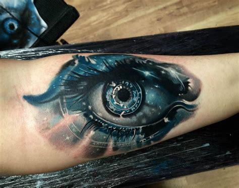 eye tattoo forearm starry eyed on girls forearm best tattoo design ideas