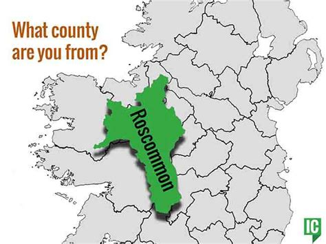 what co what s your irish county county roscommon irishcentral com