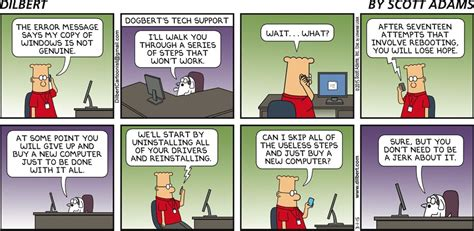 dilbert gets re accommodated books reinstalling windows dilbert by comics