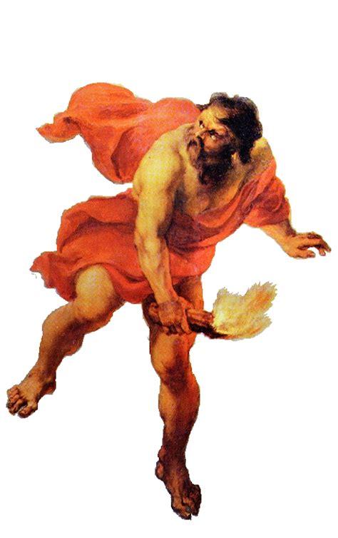 imagenes de hefesto dios del fuego dioses hefesto