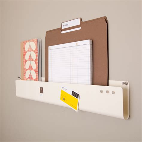 Pocket Strip Wall Organizer Contemporary Storage And Desk Organization Accessories