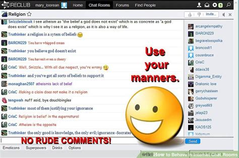 chat rooms how to behave in chat rooms 11 steps with pictures