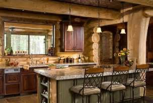 Log Cabin Kitchen Designs Log Cabin House Plans A Beautifully Handcrafted Heirloom