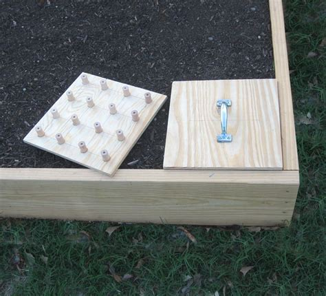 diy square foot garden planting template