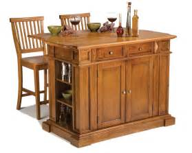 Island Kitchen Stools Oak Kitchen Islands