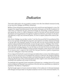 Dedication Sample Thesis Dissertation Dedications