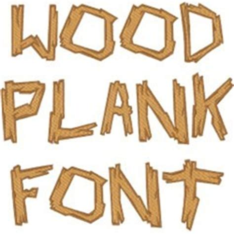 wood plank font  concord collections home format fonts