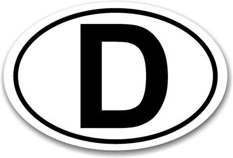 Ch Aufkleber Auto Magnet by D Magnetschild D Schild Magnet Auto Magnetisch