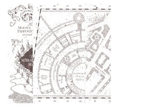 printable  marauders map complete