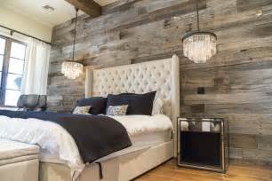 tobacco barn grey wood wall covering master bedroom