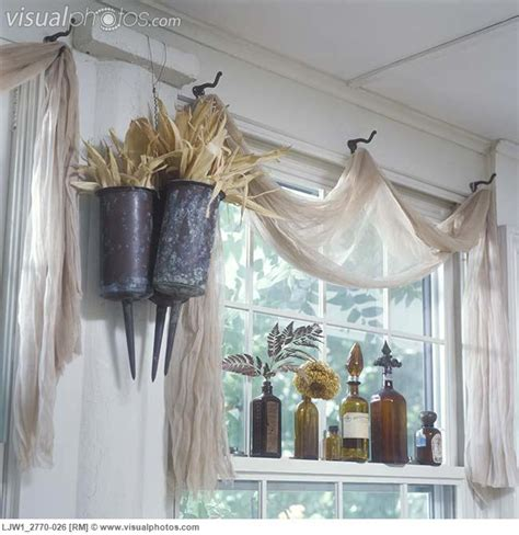 unique window treatments nets happy place vintage window ideas