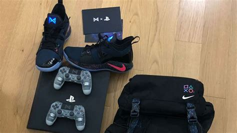 Jual Nike Pg2 Playstation this special playstation x nike pg2 pack will make you wish you could own it ungeek