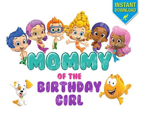 bubble guppies printable iron on 8 best ryzie s 2nd birthday images on pinterest guppy
