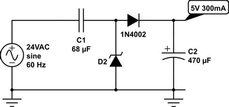 capacitor voltage half how to sense thermostat events with arduino