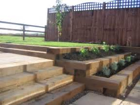 bill sweet s railway sleeper landscaping